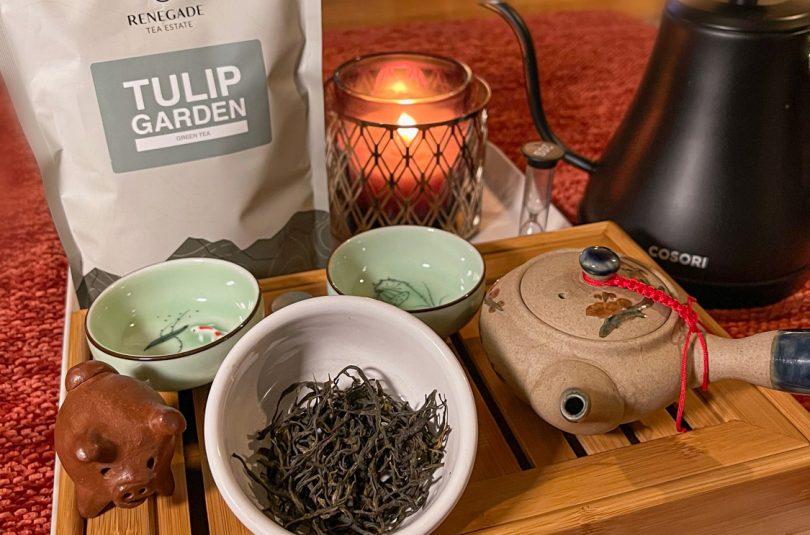 Tulip Garden Green Tea