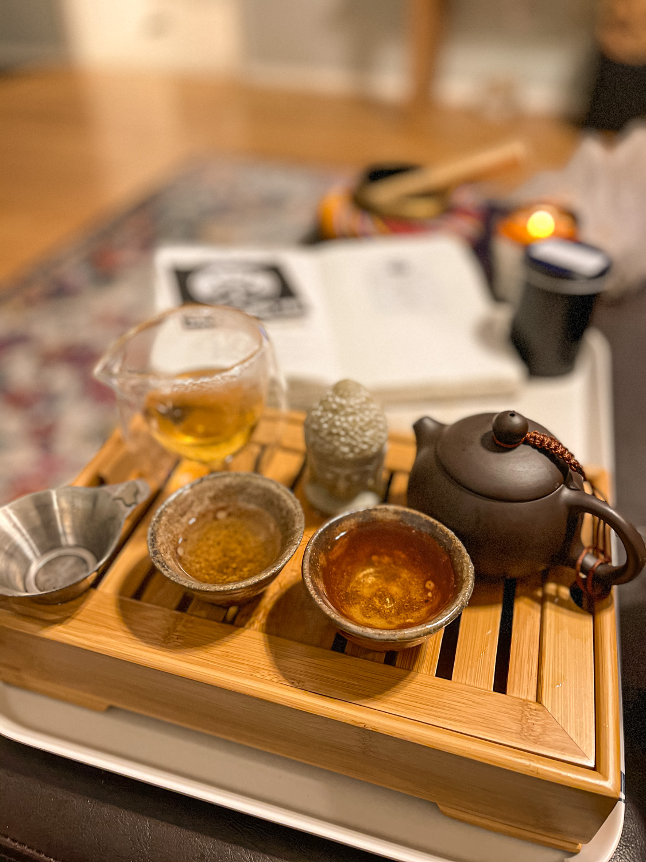 Sticky Rice Shu Pu'er 糯米香熟普洱